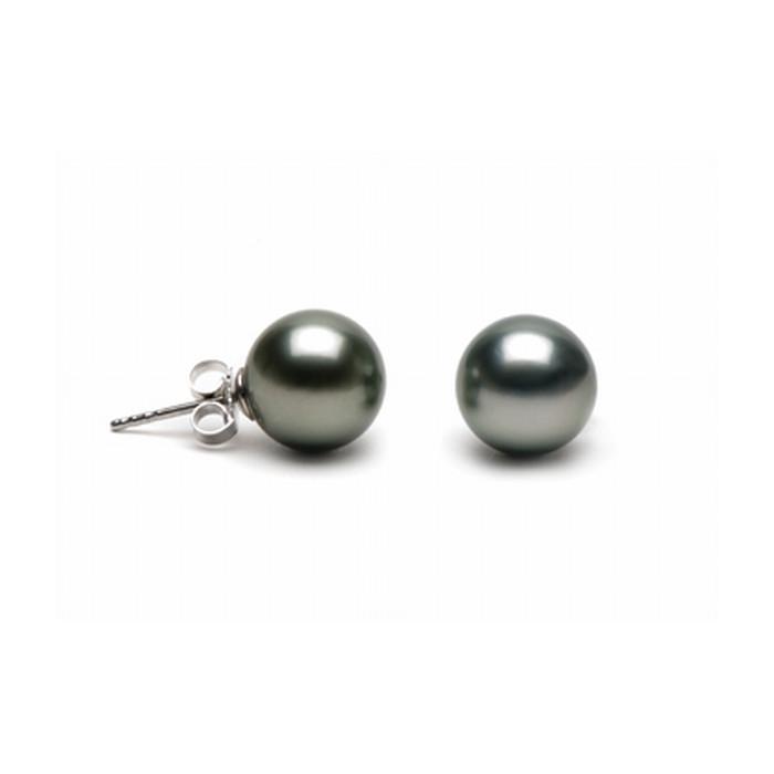 copy of Boucles d`Oreilles Perles de Tahiti 10mm Qualité Perle: AAA