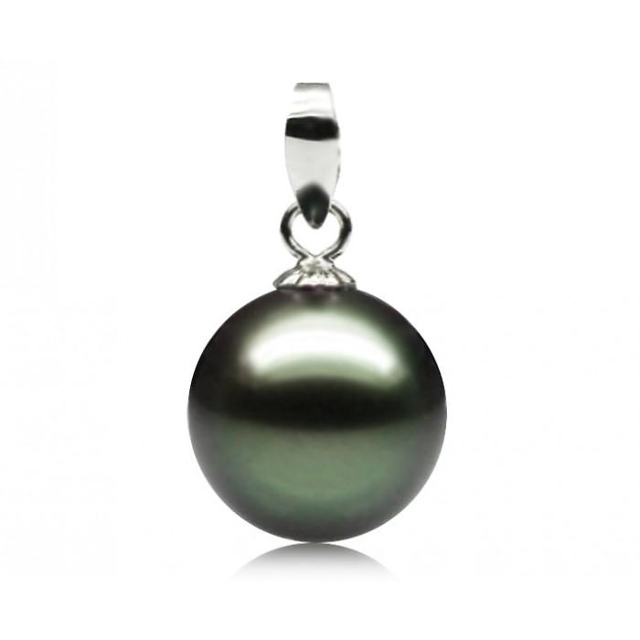 Pendentif Perle de Tahiti 8-8.5mm Qualité Perle: AAA