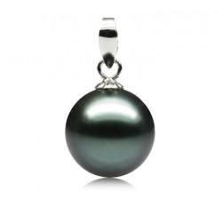 Pendentif Perle de Tahiti 8.5-9mm Qualité Perle: AAA
