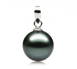 Pendentif Perle de Tahiti 9.5-10mm Qualité Perle: AAA