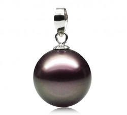 Pendentif Perle de Tahiti 10.5-11mm Qualité Perle: AAA