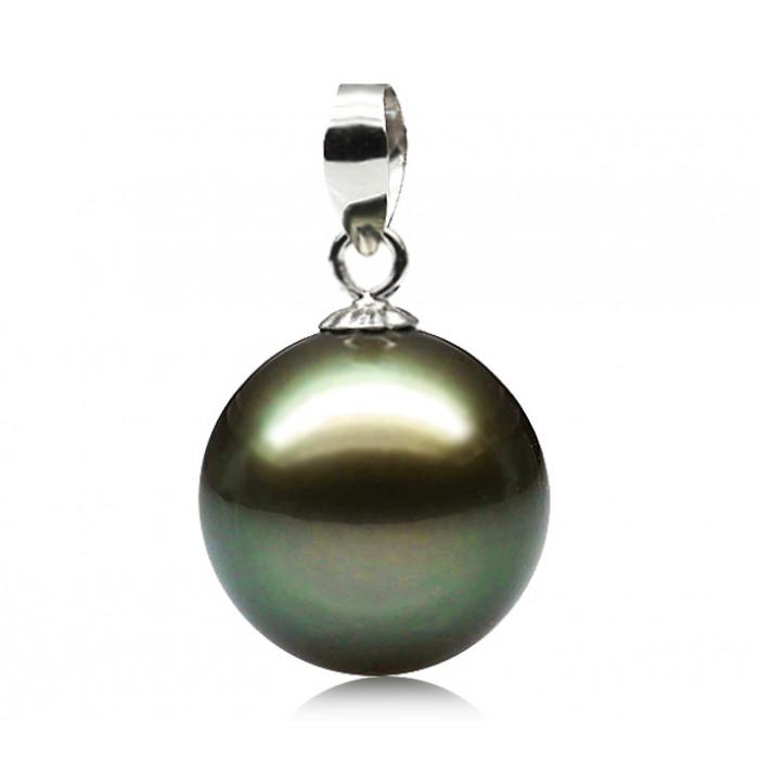 Pendentif Perle de Tahiti 11-11.5mm Qualité Perle: AAA
