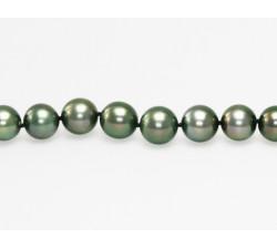 Bracelet Perles de Culture de Tahiti Rondes AA+ 9 à 10mm