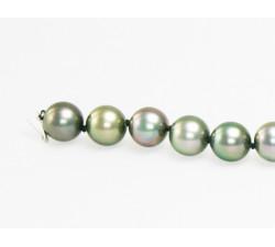 Bracelet Perles de Culture de Tahiti Rondes AA+ 10 à 11mm
