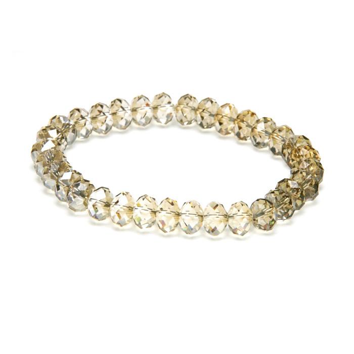 Bracelet Cristaux Swarovski Golden Shadow