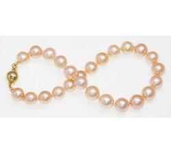 Bracelet de Perles de Culture Eau Douce Pêche 6.5-7.5mm AA+